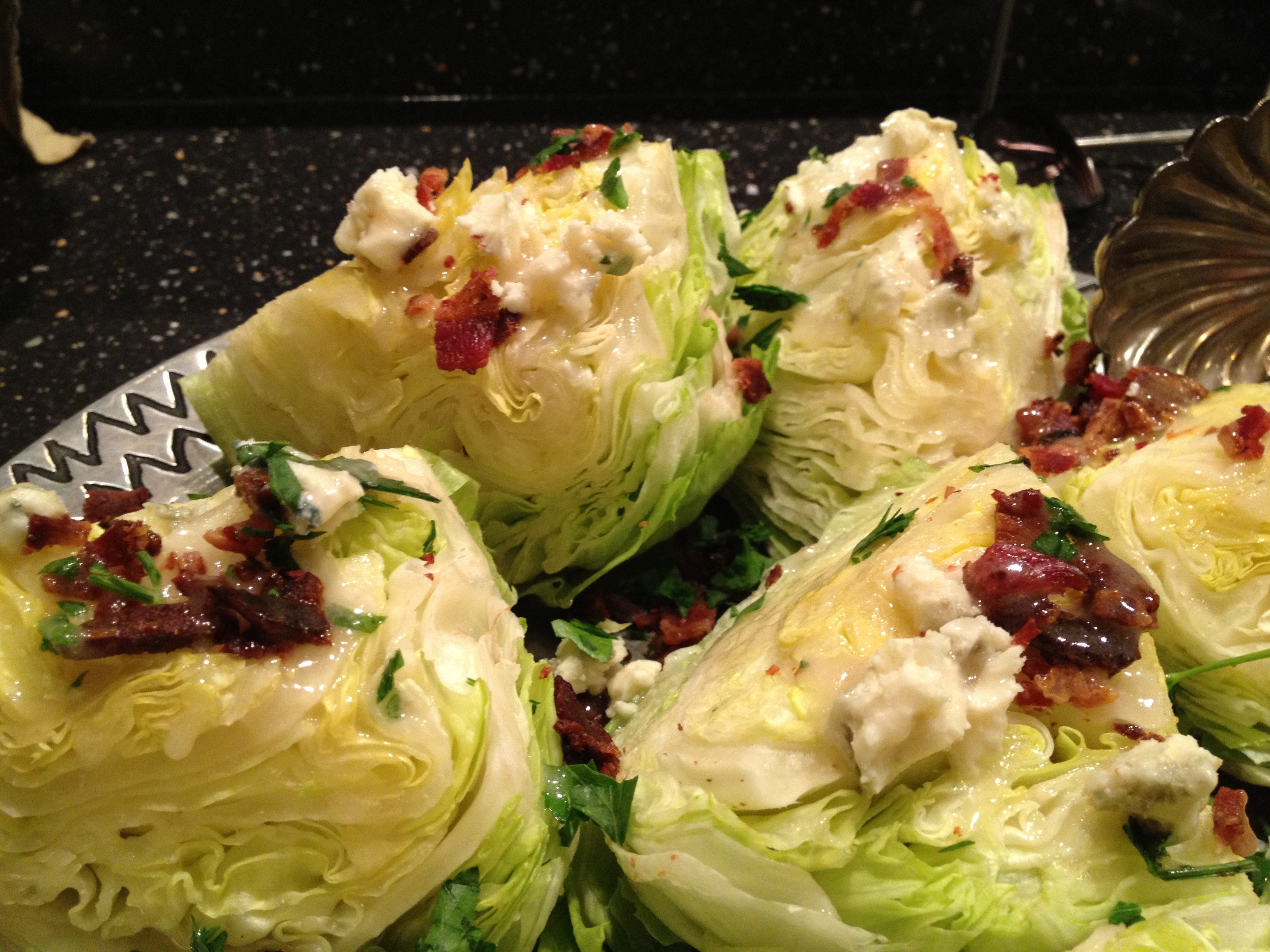 Iceberg Wedge Salad - CookingCoOp.com