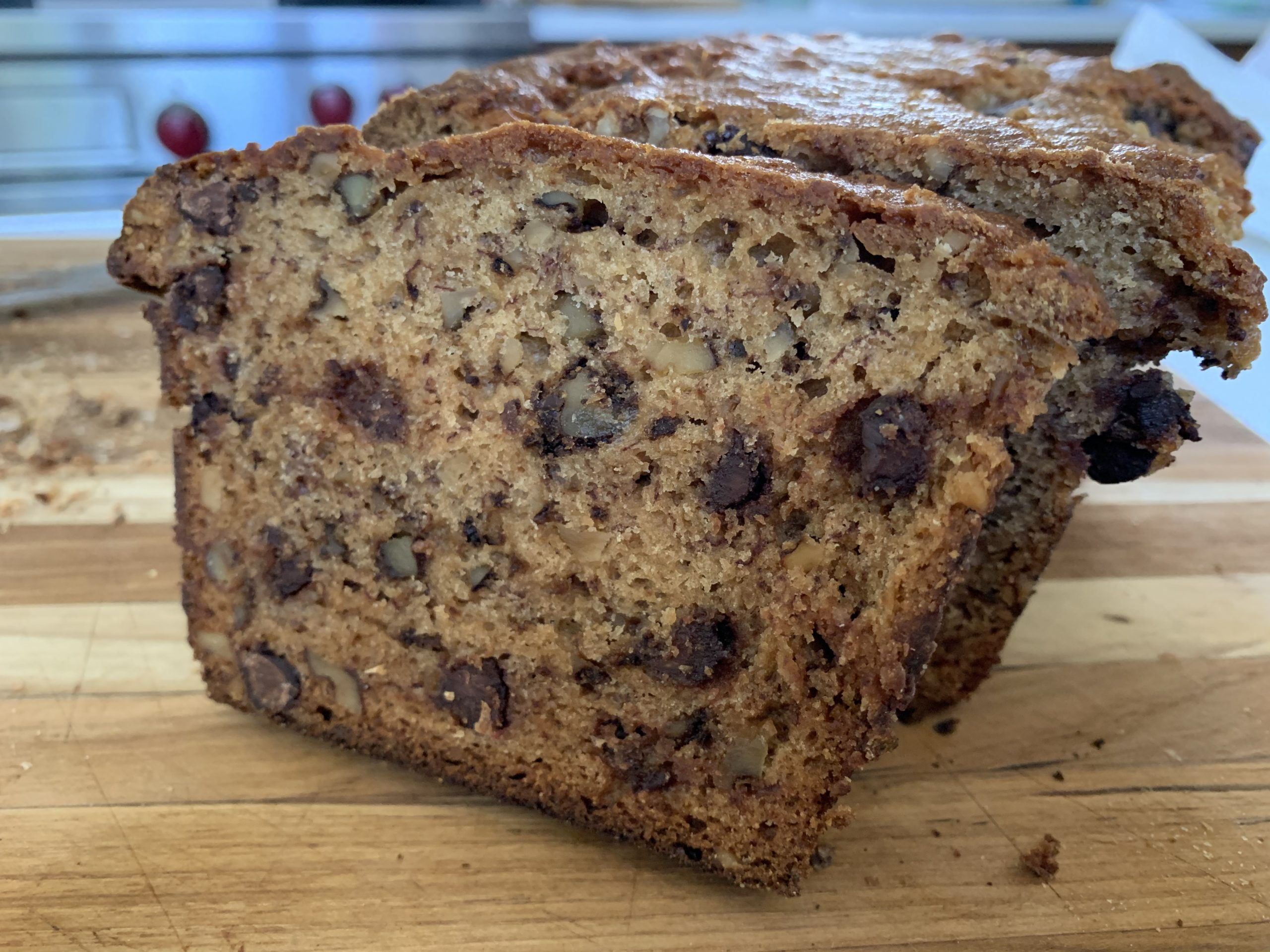 Banana Chocolate Chip Bread - CookingCoOp.com