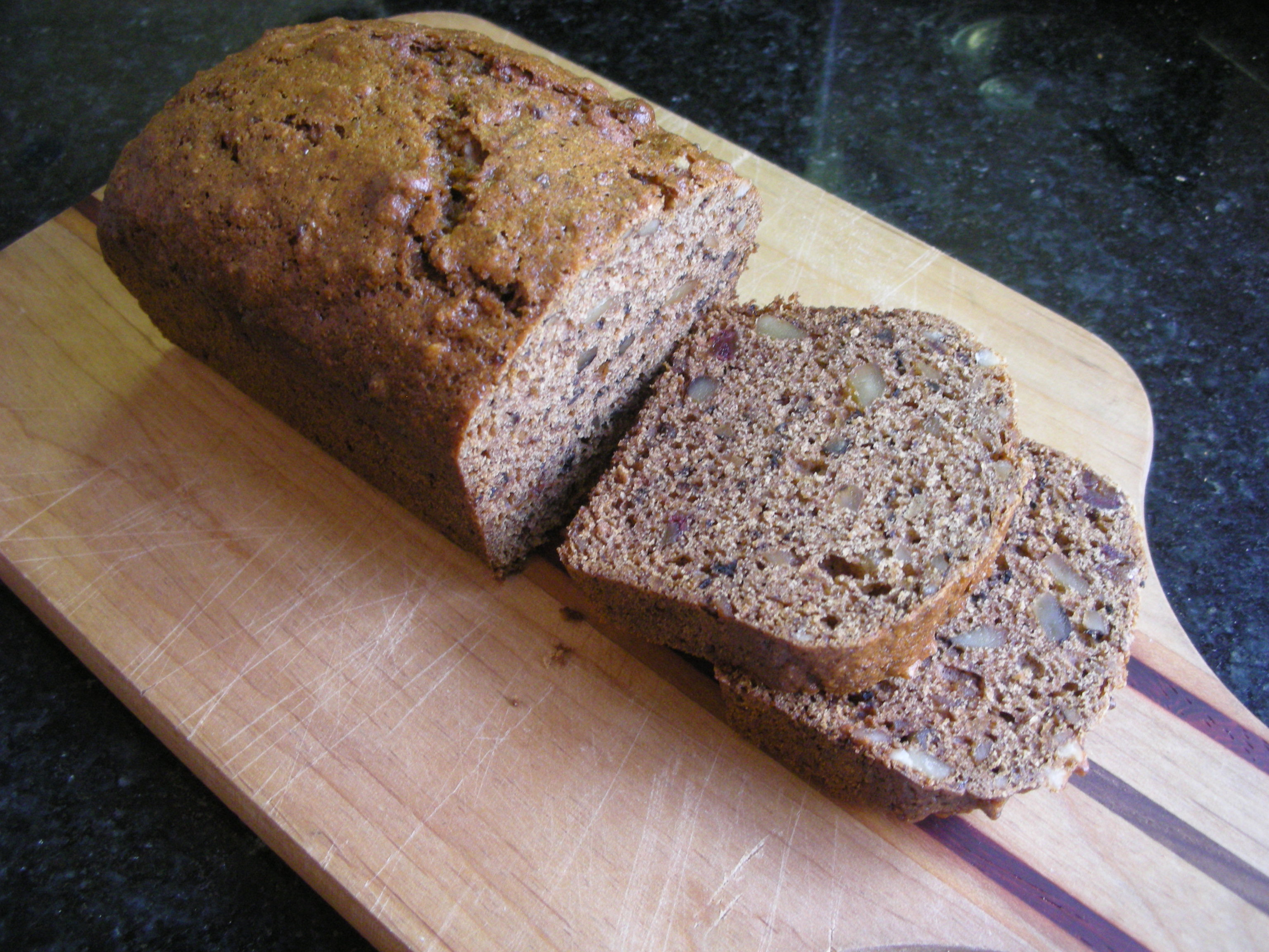 Date Walnut Bread - CookingCoOp.com