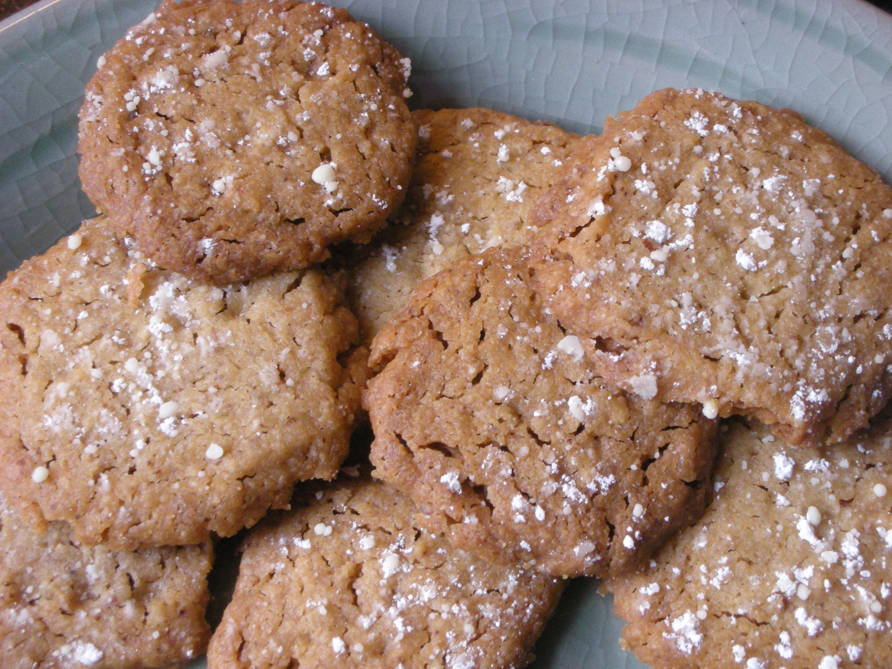 Brown Sugar Pecan Shortbread Cookies - CookingCoOp.com